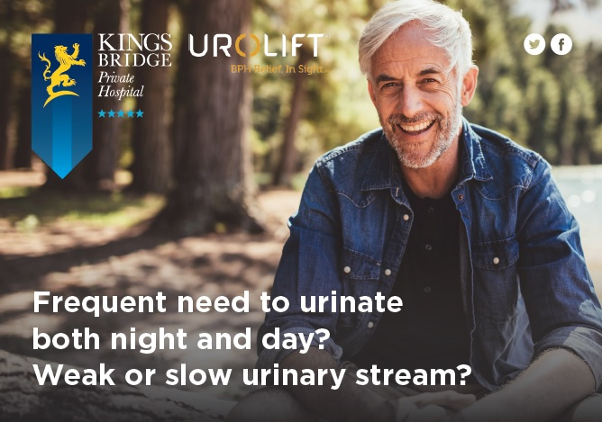 Urolift at Kingsbridge Private Hospital